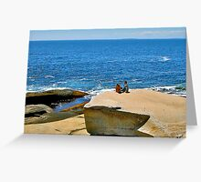 At the Edge of the World Greeting Card