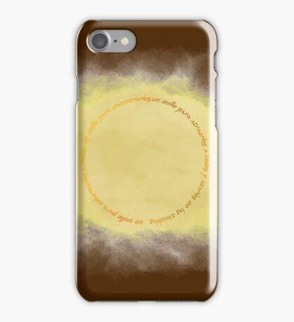 El anillo unico iPhone Case/Skin