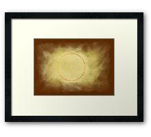 El anillo unico Framed Print