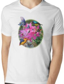 Amaryllis Party Mens V-Neck T-Shirt