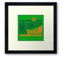 Mountain Doom v2 Framed Print