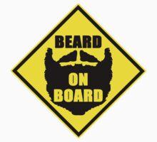 Beard On Board One Piece - Short Sleeve