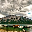 Minnewanka Lake, Banff NP by Teresa Zieba