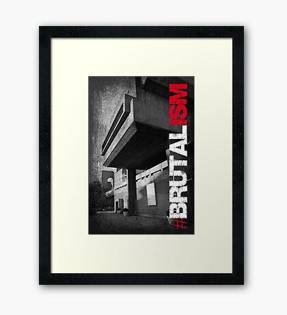Brutalism #2 Framed Print