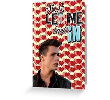 Season 5 Teen Wolf Greeting Cards [Jackson] Greeting Card