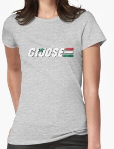 G.I. Jose - Worn Womens Fitted T-Shirt