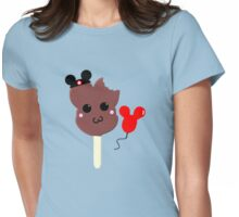 Kawaii Pixel Mickey Premium Ice Cream Bar Womens Fitted T-Shirt