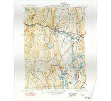 Massachusetts  USGS Historical Topo Map MA Orange 352025 1941 31680 Poster