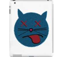 Dead cat bounce geek funny nerd iPad Case/Skin