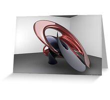 Virtual sculpture 2 Greeting Card