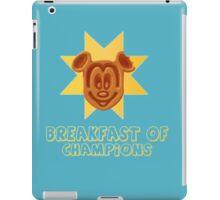 Mickey Waffle - Breakfast of Champions iPad Case/Skin