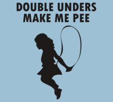 Double unders make pee geek funny nerd by sayasiti