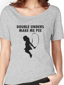 Double unders make pee geek funny nerd Women's Relaxed Fit T-Shirt