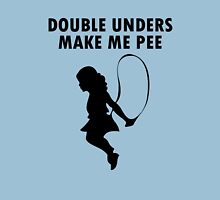 Double unders make pee geek funny nerd Unisex T-Shirt