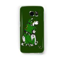 Green Voltron Lion Cubist Samsung Galaxy Case/Skin