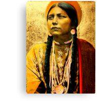 Lakota Maiden  Canvas Print