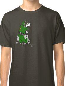 Green Voltron Lion Cubist Classic T-Shirt
