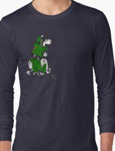 Green Voltron Lion Cubist Long Sleeve T-Shirt