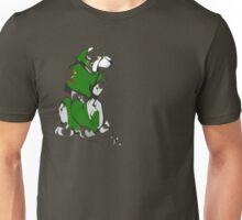 Green Voltron Lion Cubist Unisex T-Shirt