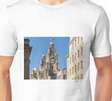 Royal Liver Building, Liverpool Unisex T-Shirt