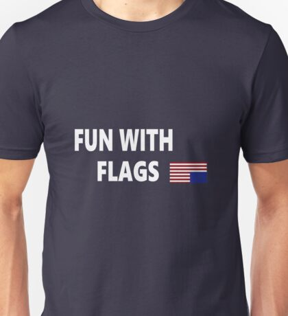 Fun with Flags House of Cards Unisex T-Shirt