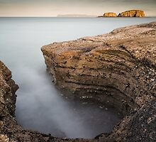 Carved by the Sea - Ballintoy by Nigel R Bell