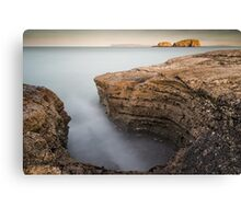 Carved by the Sea - Ballintoy Canvas Print