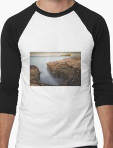 Carved by the Sea - Ballintoy Men's Baseball ¾ T-Shirt