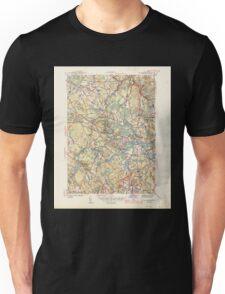 Massachusetts  USGS Historical Topo Map MA Wilmington 352368 1944 31680 Unisex T-Shirt
