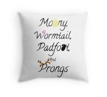 The Mauraders Throw Pillow