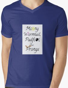 The Mauraders Mens V-Neck T-Shirt