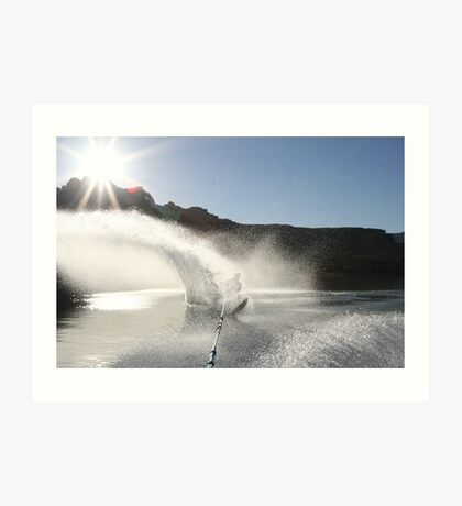 waterwall Art Print