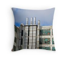 """Detroit's Old and Forgotten"" Throw Pillow"
