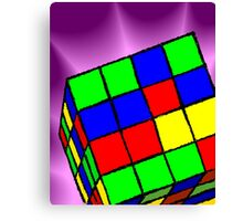 Multi Coloured cube Sudoku game	 Canvas Print
