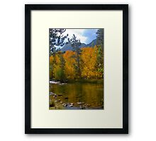 Bishop CA. North Fork Bishop Creek Fall Framed Print