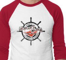 Morgan's Marina (black) Men's Baseball ¾ T-Shirt