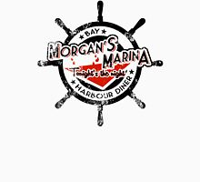 Morgan's Marina (black) Men's Baseball ¾ T-Shirt