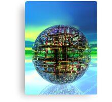 Technology Ball Canvas Print