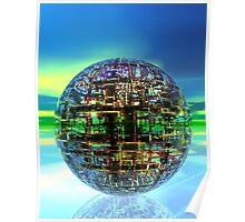 Technology Ball Poster