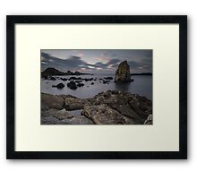 Ballintoy Sea Stack Framed Print