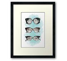 Fashion Sunnies Framed Print