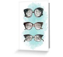 Fashion Sunnies Greeting Card