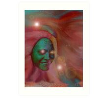 Psychedelic Visionary Art Print