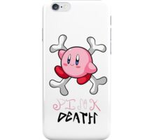 Kirby Pink Death iPhone Case/Skin