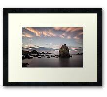 Ballintoy Afterglow Framed Print