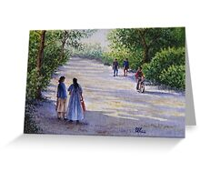 The Road to Market Greeting Card