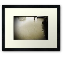 Water World #5 Framed Print