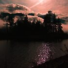 Misty Shades of Pink - Adams Lake BC by frame-by-frame