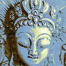 Blue Buddha by Mary Tomaselli