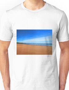 Harmonic Beach - Sand, Sea and Sky Unisex T-Shirt